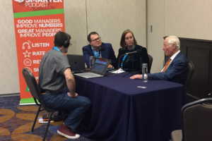 C. Lee Smith, Audrey Strong and Brian Tracy on the Manage Smarter podcast