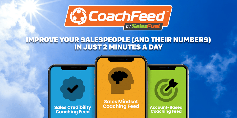 CoachFeed by SalesFuel sales coaching solution