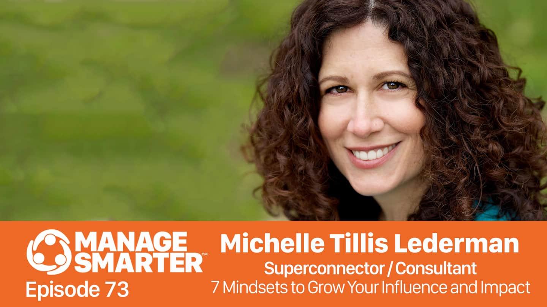 Michelle Tillis Lederman on the Manage Smarter podcast by SalesFuel