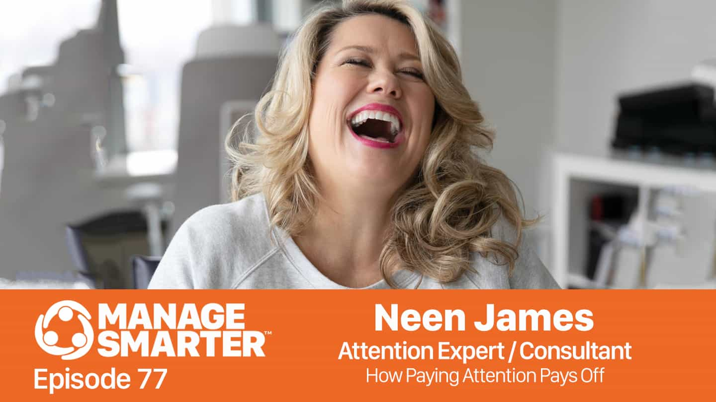 Neen James on the Manage Smarter podcast from SalesFuel