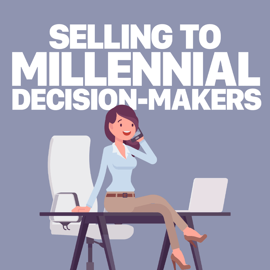 Selling to Millennial Decision Makers white paper from SalesFuel