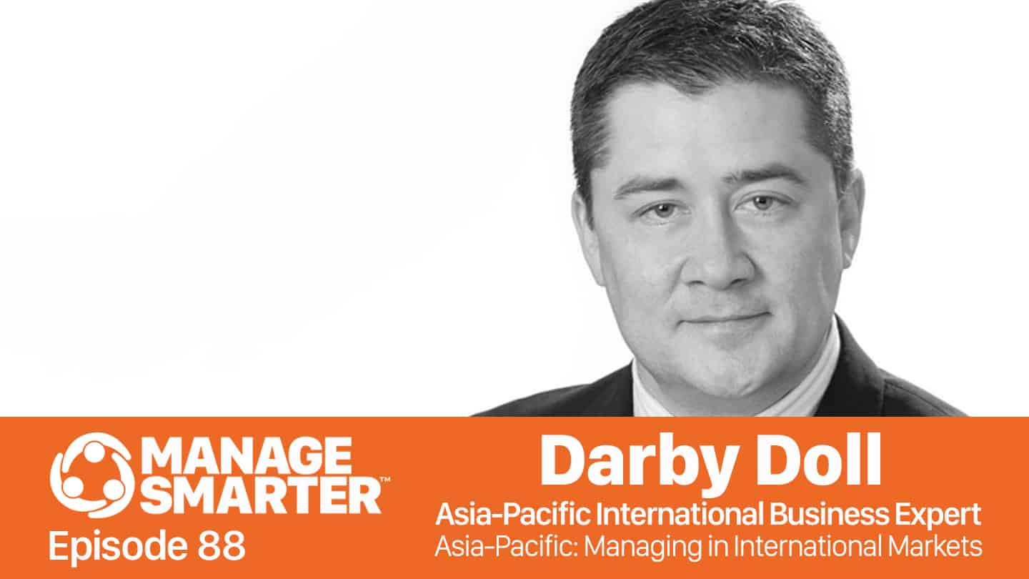 Darby Doll on the Manage Smarter podcast from SalesFuel