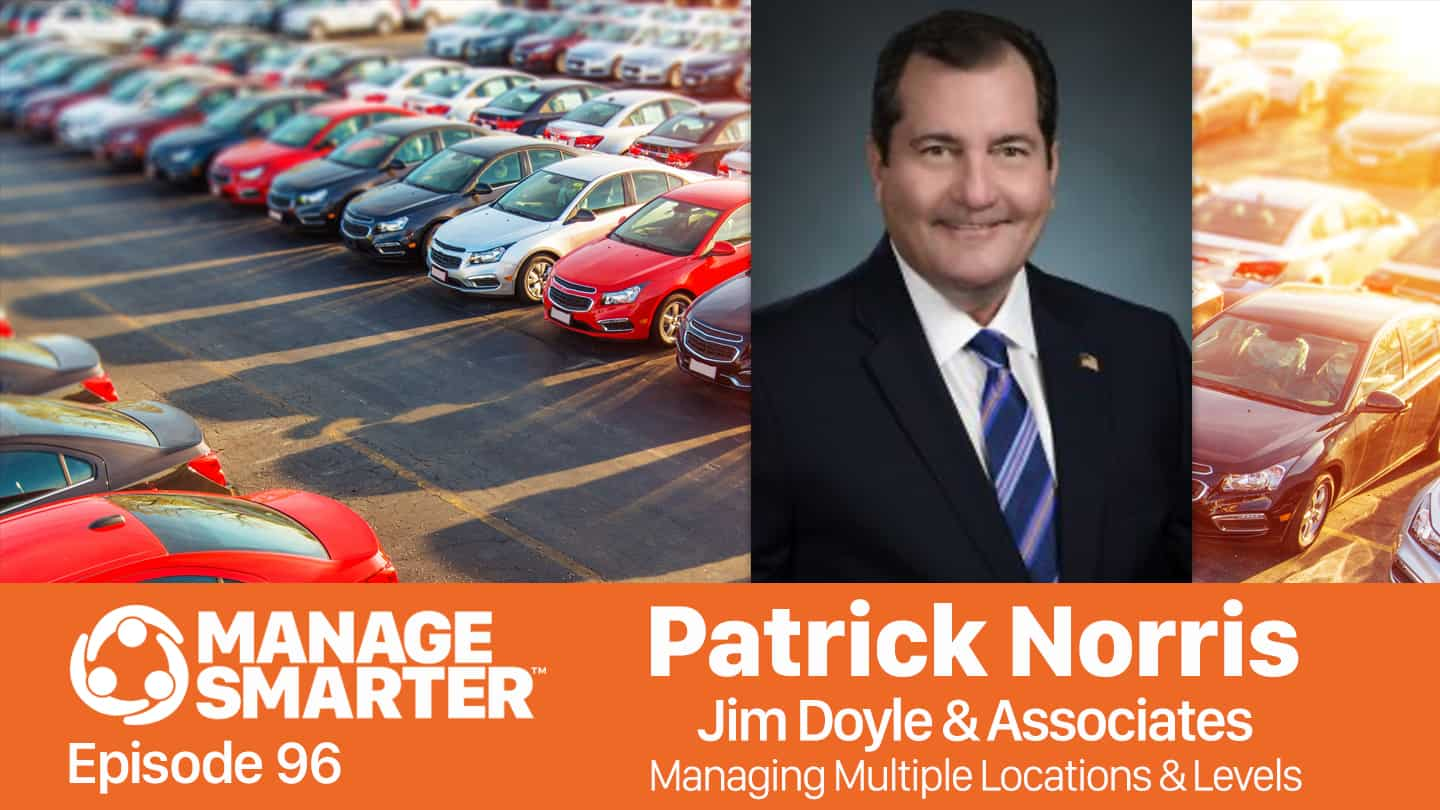 Patrick Norris on the Manage Smarter podcast from SalesFuel
