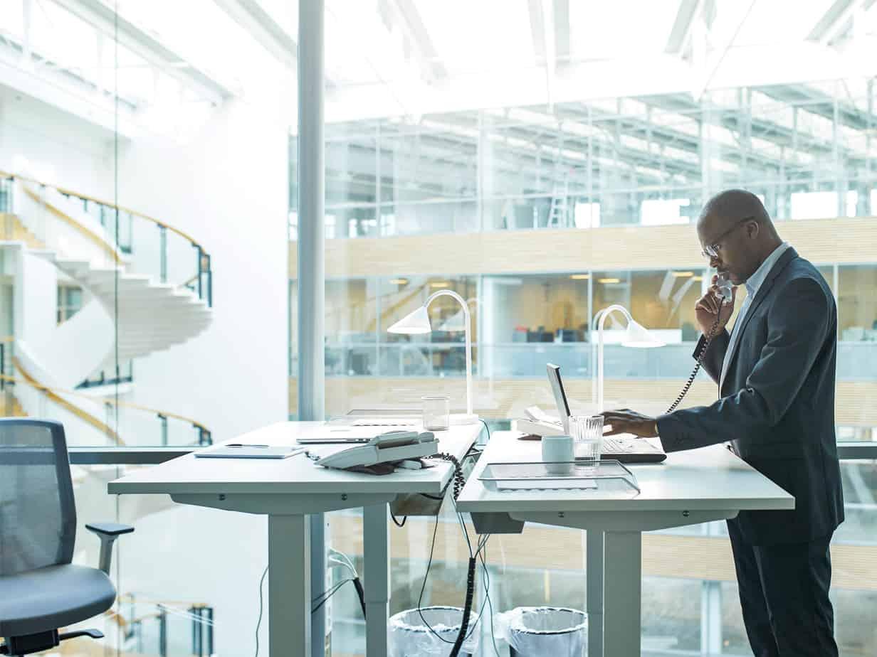 gatekeeper at desk