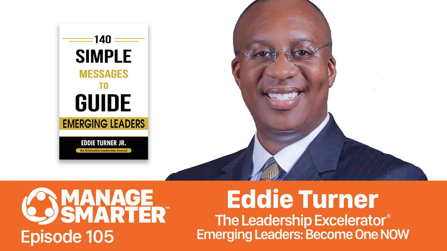 Eddie Turner on the Manage Smarter podcast from SalesFuel