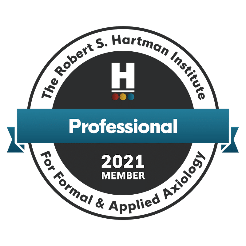 C. Lee Smith is an Axiology Professional Member of the Robert S. Hartman Institute