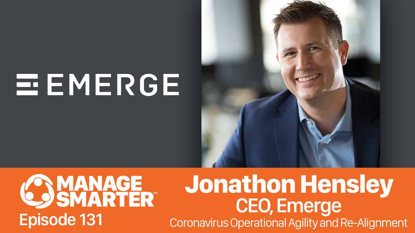 Jonathon Hensley on the Manage Smarter podcast from SalesFuel