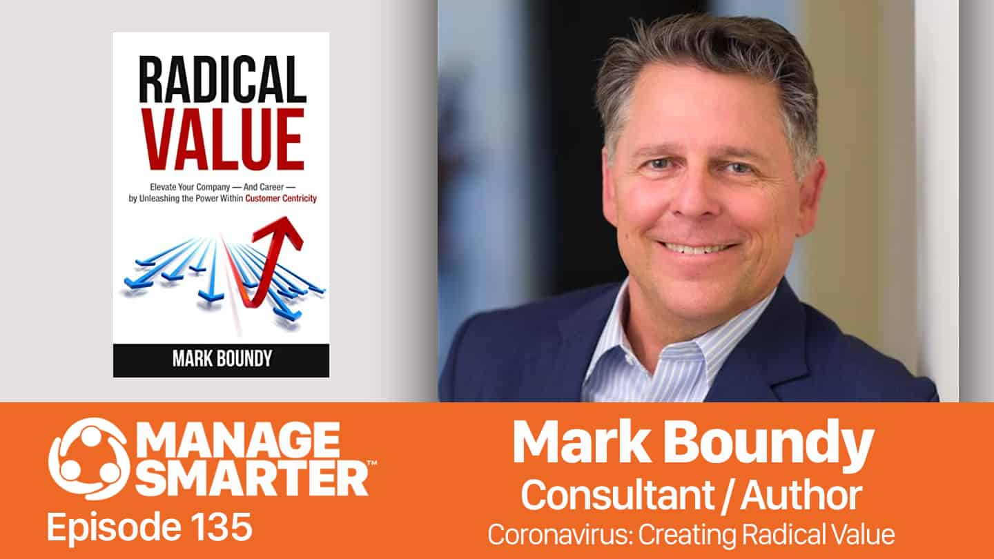 Mark Boundy on the Manage Smarter podcast from SalesFuel