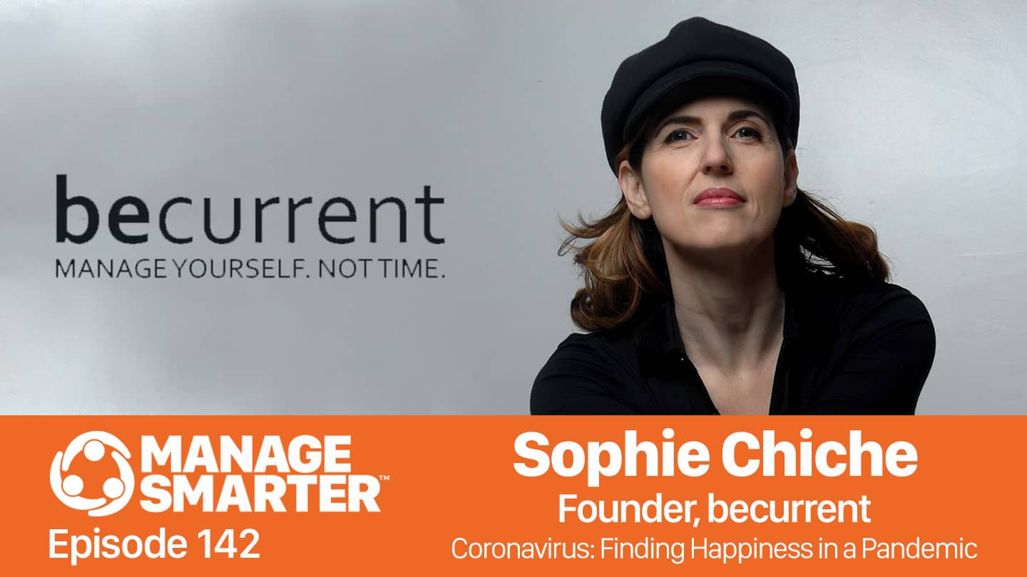 Sophie Chiche on the Manage Smarter podcast from SalesFuel