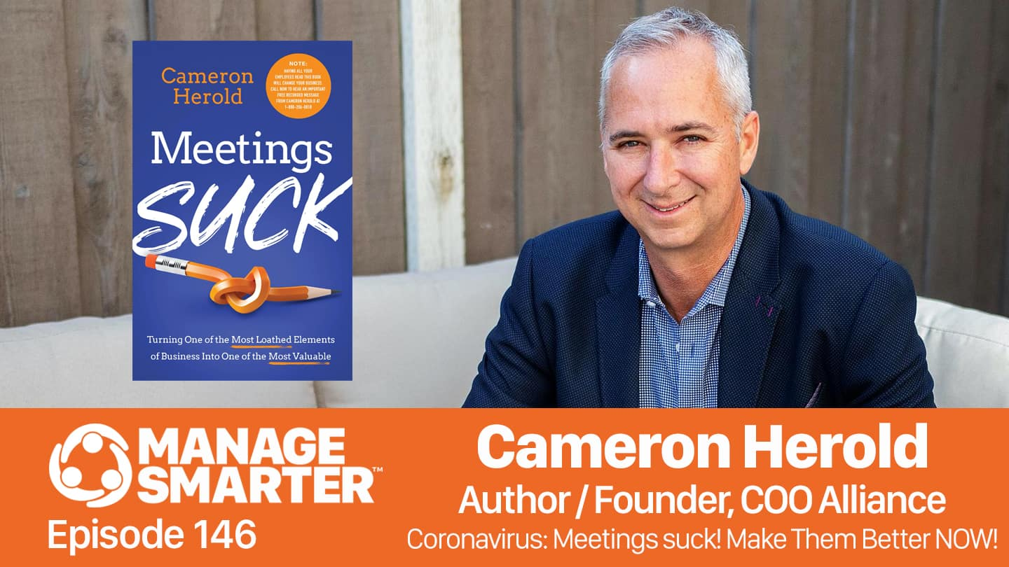 Cameron Herold on the Manage Smarter podcast from SalesFuel