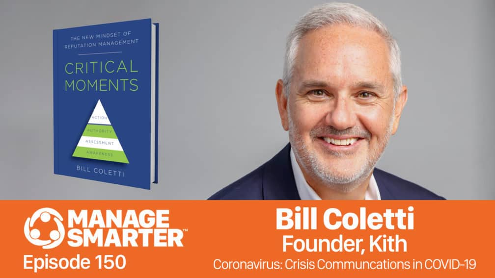 Bill Coletti on the Manage Smarter podcast from SalesFuel