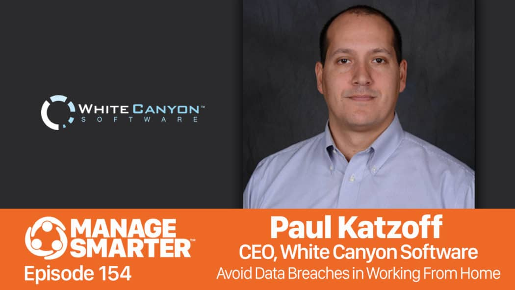 Paul Katzoff on the Manage Smarter podcast from SalesFuel