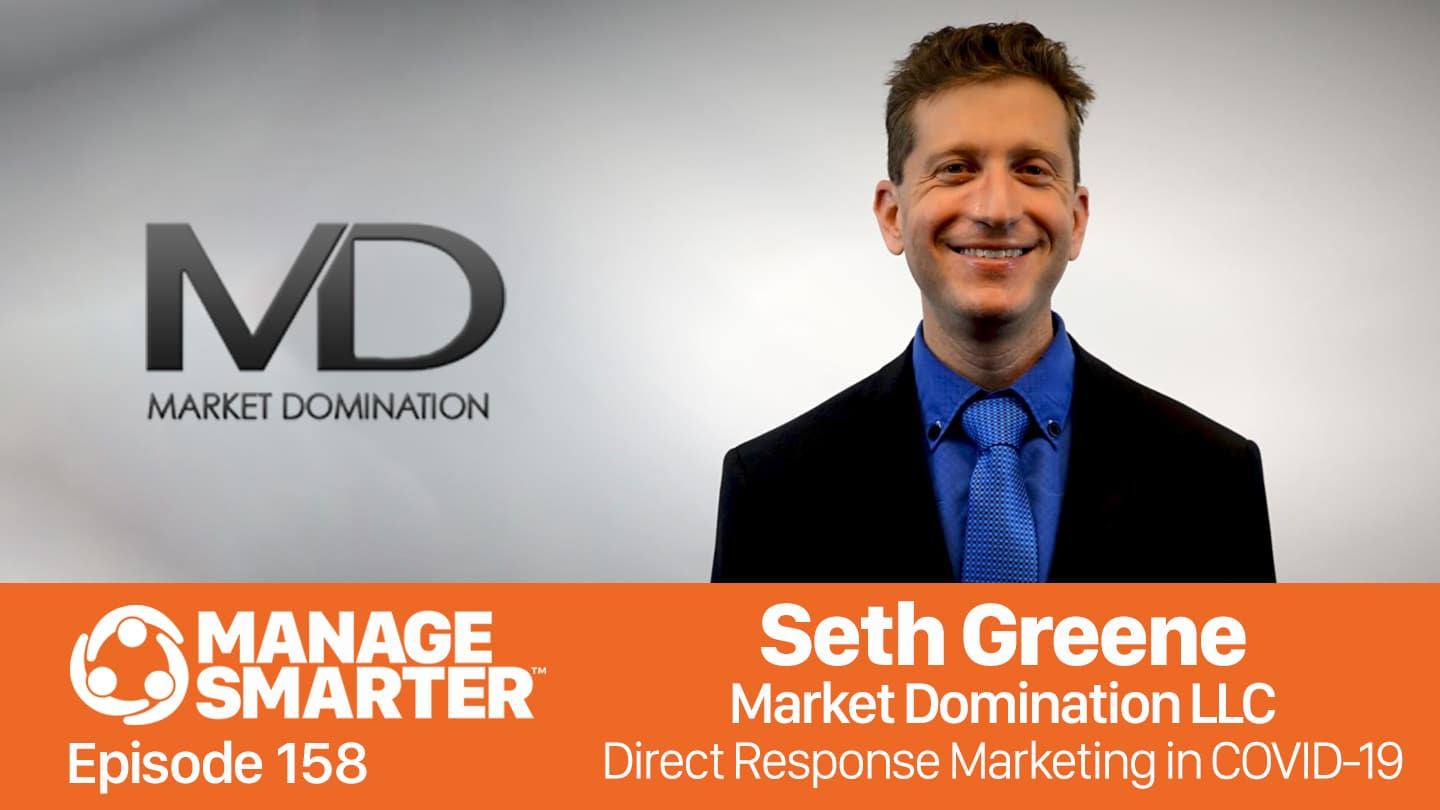 Seth Greene on the Manage Smarter podcast from SalesFuel