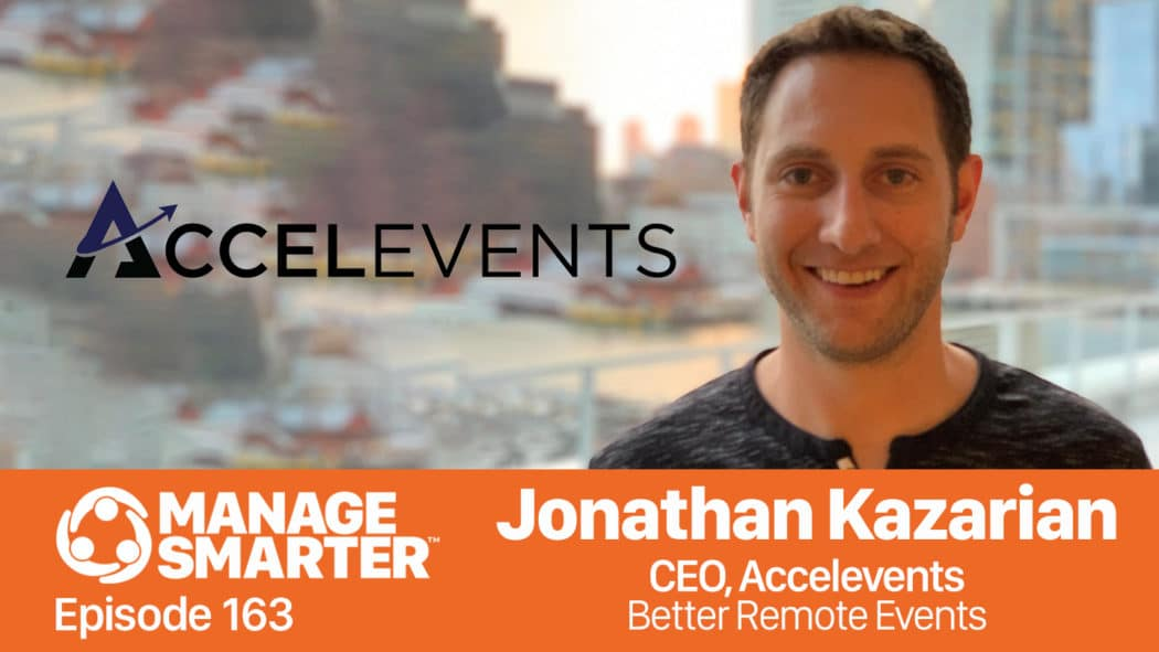 Jonathan Kazarian on the Manage Smarter show from SalesFuel