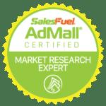 AdMall Certified Market Research Expert