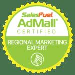 AdMall Certified Regional Marketing Expert - SalesFuel Digital Badge