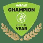 AdMall Champion of the Year Award - SalesFuel Digital Badge