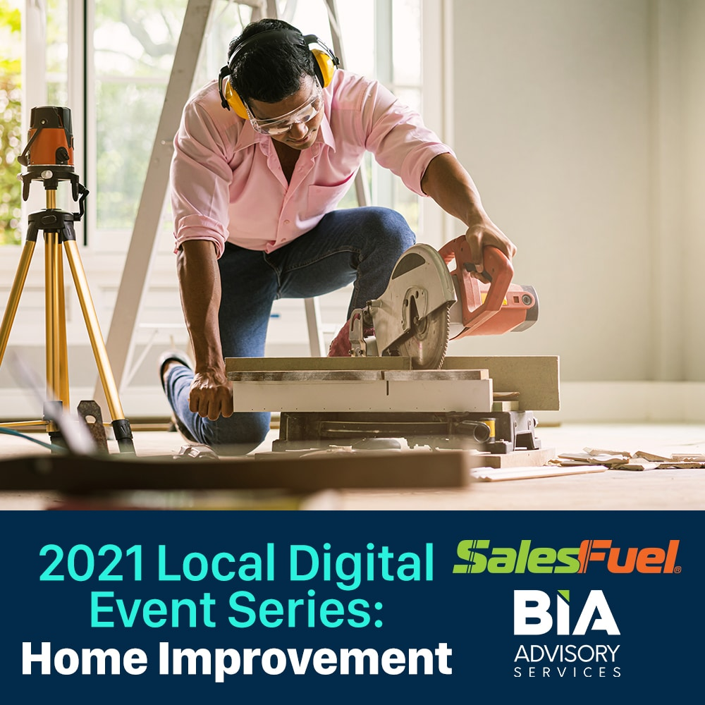 AdMall, SalesFuel and BIA Local Digital Advertising Marketing Webinar on Home Improvement Spending