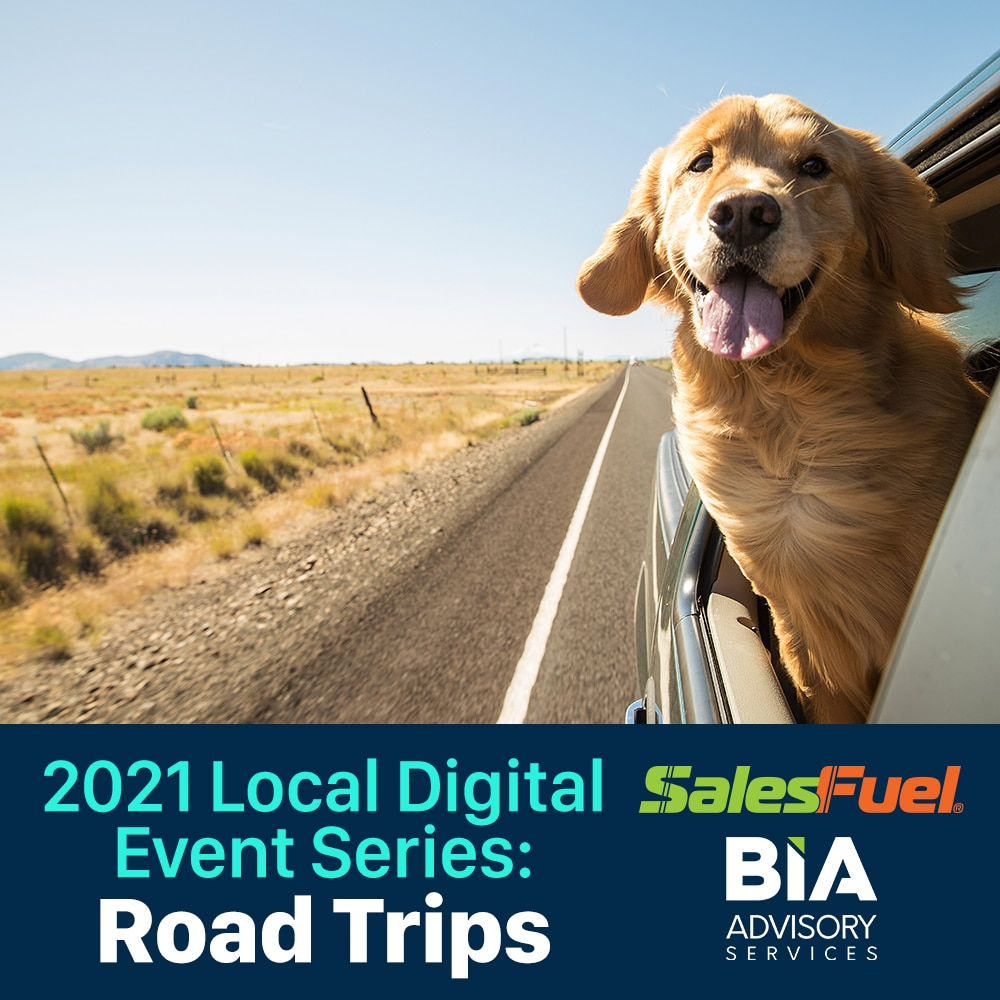 AdMall, SalesFuel and BIA Local Digital Advertising Marketing Webinar on Consumer Road Trips