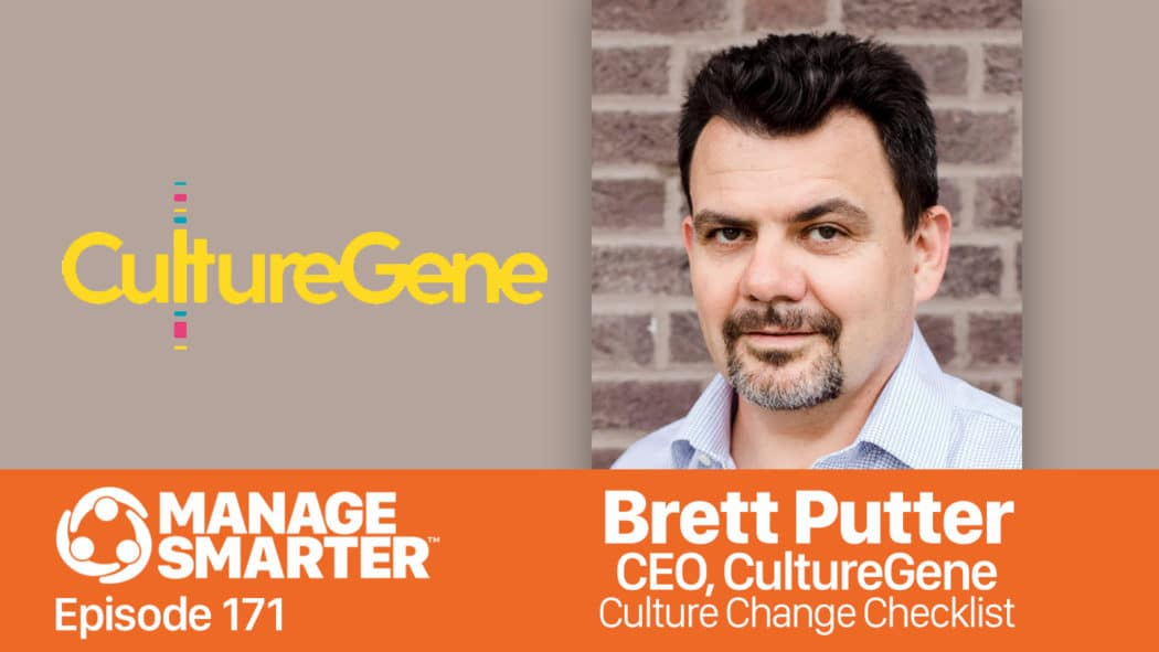 Brett Putter on the Manage Smarter show from SalesFuel