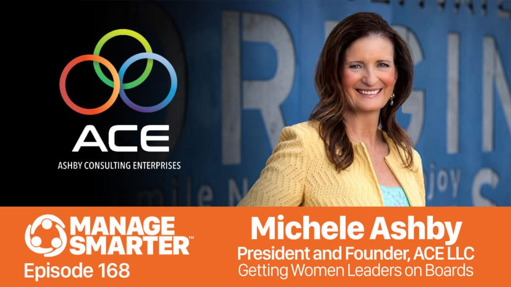 Michele Ashby on on the Manage Smarter show from SalesFuel