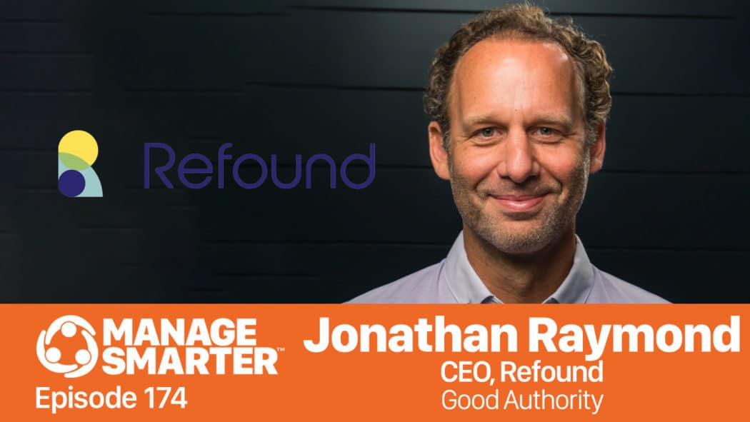 Jonathan Raymond on the Manage Smarter show from SalesFuel