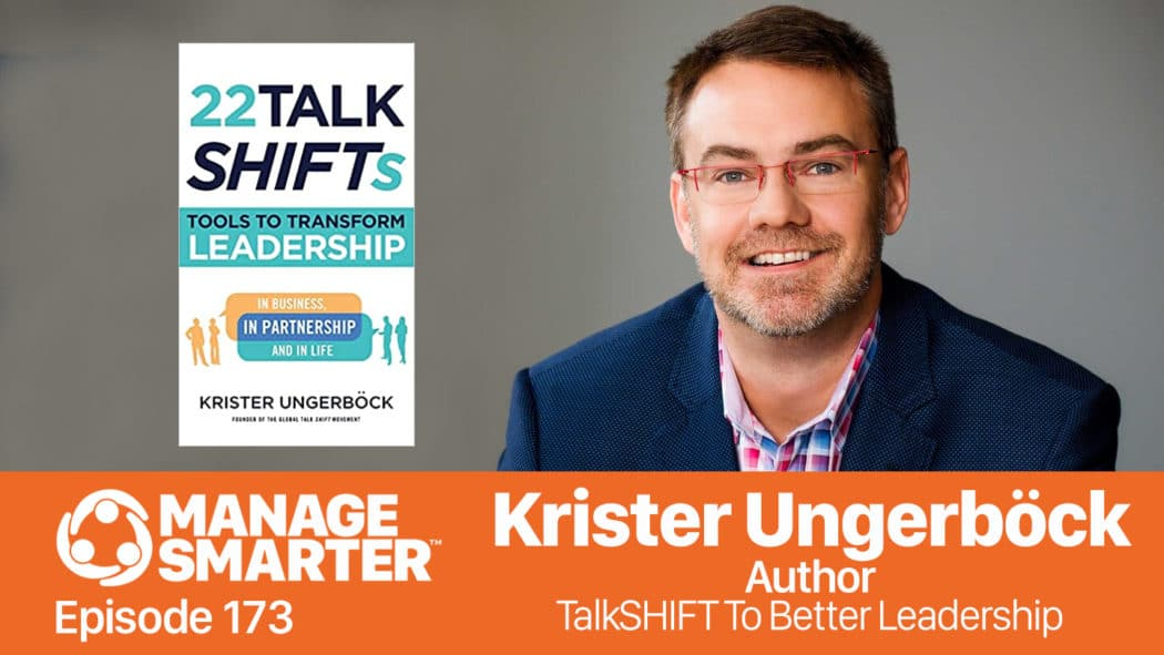 Krister Ungerböck on the Manage Smarter podcast from SalesFuel