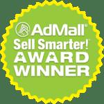 AdMall Sell Smarter Award Winner Badge
