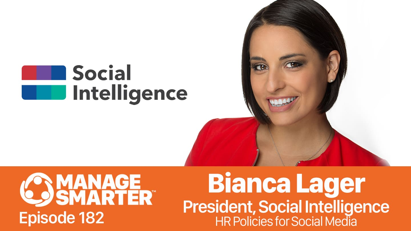 Bianca Lager on the Manage Smarter Show from SalesFuel podcast and vodcast